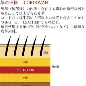 コードバン 長財布 FRUH(フリュー)スマートロングウォレット‐日本製 馬革 ヌメ革 薄い 財布 革財布 メンズ GL021|kurazo|03