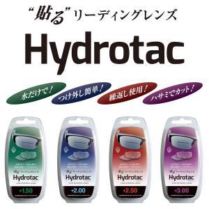 Hydrotac(ハイドロタック) 貼るリーディングレンズ‐老眼鏡 男性 女性 おしゃれ リーディンググラス 携帯用 フチなし 度数|kurazo