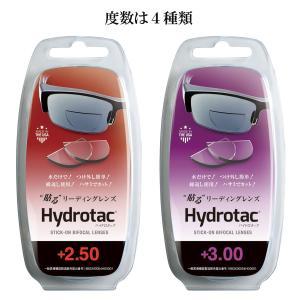 Hydrotac(ハイドロタック) 貼るリーディングレンズ‐老眼鏡 男性 女性 おしゃれ リーディンググラス 携帯用 フチなし 度数 kurazo 03