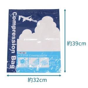 衣類圧縮袋 10枚組 旅行 トラベル スライダー1個付き 日本製 掃除機いらず 巻くだけ 押すだけ 衣類収納袋 圧縮袋 海外旅行 国内旅行 出張|kurazo|02