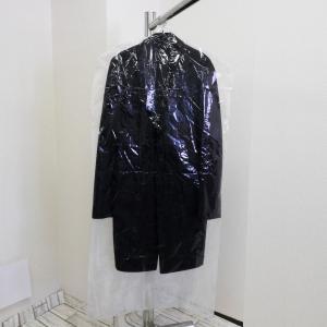 衣類カバー コートサイズ ロング 10枚組-衣装カバー 洋服カバー 片面透明 片面不織布 中身が見える ドレス ワンピース 日本製 ほこりよけに〈送料無料〉|kurazo|05
