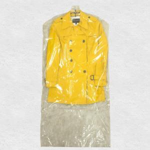 衣類カバー コートサイズ ロング 10枚組-衣装カバー 洋服カバー 片面透明 片面不織布 中身が見える ドレス ワンピース 日本製 ほこりよけに〈送料無料〉|kurazo|06