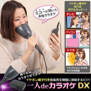 一人deカラオケDX E&K AX-021 イーアンドケー‐カラオケ練習機 カラオケマイク 防音 〈送料無料〉