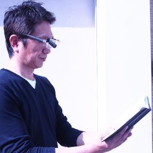 メガネ型 拡大鏡 LEDライト付-両手が使える 眼鏡の上から クリップ式LEDライト付 拡大率1.6倍 クリアレンズ 男女兼用 老眼鏡 ルーペ 作業用 手元明るく|kurazo|09