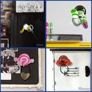マグネットフック Disney-ディズニー マグネット フック 鍵フック 壁フック 小物フック 冷蔵庫フック ミッキー ミニー プーさん チシャ猫|kurazo|09
