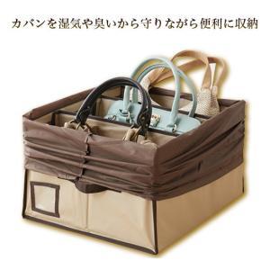除湿 & 消臭 カバン収納ボックス(ベージュ)O-1062〈送料無料〉|kurazo|02