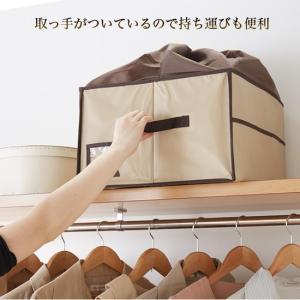 除湿 & 消臭 カバン収納ボックス(ベージュ)O-1062〈送料無料〉|kurazo|04