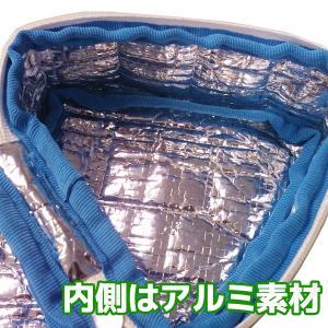 保温・保冷バッグ おにぎりポーチ-おにぎりケース 携帯用 ミニ ランチバッグ 冷えない お弁当グッズ たためる SPP-10168 チェック 水玉 kurazo 04
