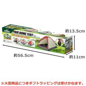 組立式 2人用 ドーム型テント Momtagna-収納袋付き テント 組立簡単 工具不要 軽量 メッシュ扉 サンシェード 日除け コンパクト ワイド空間 モンタナ ハック|kurazo|06