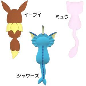 ポケモンテール Pokemon tail ポケモン マグネット フック-鍵フック 壁フック 小物フック 冷蔵庫フック ピカチュウ ニャース ミュウ イーブイ ブースター|kurazo|05