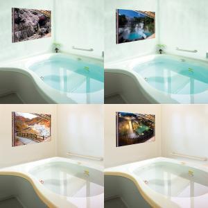 お風呂のポスター 日本の名湯 4枚セット‐有馬温泉 別府温泉 登別温泉 草津温泉 kurazo 06