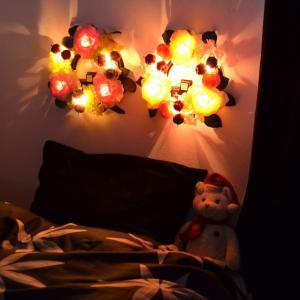 LEDライト ローズリース‐お花 ギフト  アーティシャルフラワー  センサーライト インテリア ディスプレイ 母の日 父の日|kurazo|06