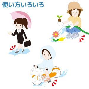 靴 雨 雪 カバー 20足組(40枚)-防水 撥水 使い捨て シューズカバー くつカバー 左右兼用 雨の日 雪の日 ドロ 汚れ 防止|kurazo|04