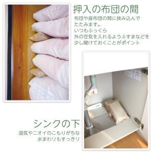 調湿木炭 炭八セットB〈送料無料〉(室内用×1、押入用×2、タンス用×3、小袋×1)‐除湿 消臭 調湿 脱臭|kurazo|06