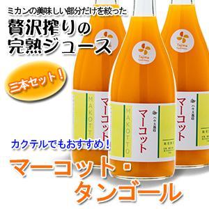【贅沢搾り】マーコット・タンゴールジュース 三本セット 720ml【ミカンジュース】|kureme