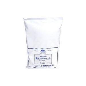 塩化マグネシウム ニガリ にがり  500g 小西利七商店 品 食品添加物