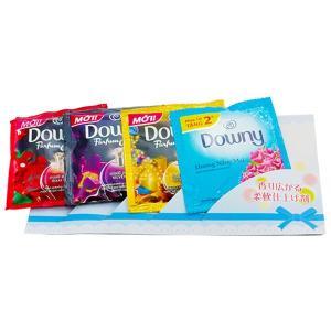 NEWバラエティ ダウニー 4包×50袋入 景品に最適 柔軟仕上げ剤 お試し小袋 ケース売り|kuriten