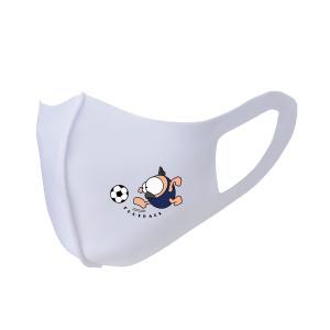 繰り返し使える クリエーターズマスク ユニーク な スポーツキャラクター イラスト プリント サッカー kuriten