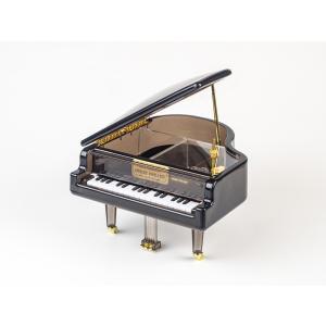 オルゴール アクリル ギフト「アクリルピアノオルゴール ブラック」|kurokabe