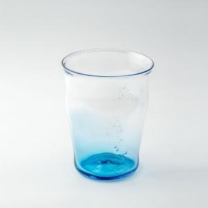 ハンドメイド テーブルウェア 食卓 日本製 記念品 お祝い プレゼント ガラス グラス 「淡海グラス」|kurokabe