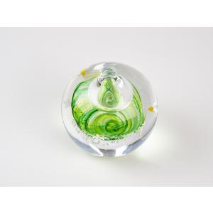 ハンドメイド テーブルウェア 食卓 日本製 記念品 お祝い プレゼント ガラス 一輪挿し 「梅花藻 一輪挿し」|kurokabe
