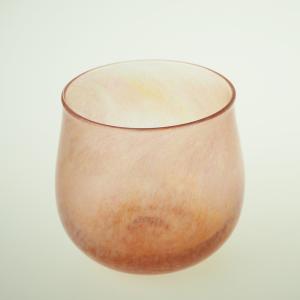 ハンドメイド テーブルウェア 食卓 日本製 記念品 お祝い プレゼント ガラス グラス 「Pale グラス(ピンク)」|kurokabe