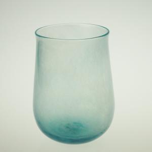 ハンドメイド テーブルウェア 食卓 日本製 記念品 お祝い プレゼント ガラス グラス 「Pale タンブラー(ブルー)」|kurokabe