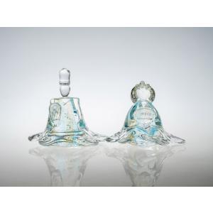 ガラスのお雛様 ひなまつり 節句 ギフト 「春水(しゅんすい)」|kurokabe
