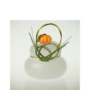 ガラスの鏡餅 小 お正月 ガラス 記念品 お祝い プレゼント 黒壁|kurokabe