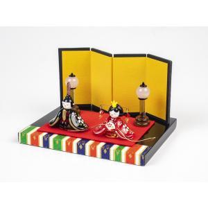 ガラスのお雛様 雛人形 ひなまつり 節句 ギフト 「京都御所雛セット」|kurokabe
