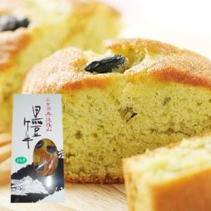 丹波黒豆ケーキ(よもぎ)-ふっくらおいしいスイーツです...