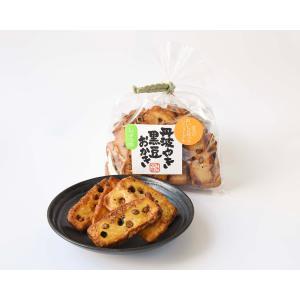 丹波やき黒豆おかき醤油味|kuromame