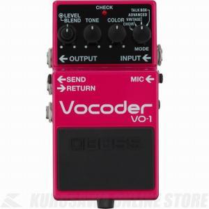 ギターとベースに新たな表現力を VO-1 は、ギター演奏に人の声による表現力を追加する革新的なエフェ...