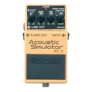 AC-3は、エレクトリック・ギター・サウンドを、アコースティック・ギター・サウンドに変化させるアコー...