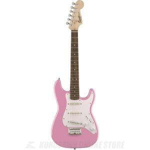 Squier Mini Strat, Pink (エレキギター/ストラトキャスター) (送料無料)(...