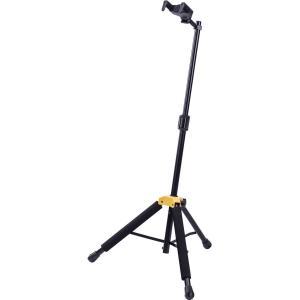 ハーキュレスのギタースタンドはAGS、GHA、SFFといった独自機構によってギターを安全に保持します...