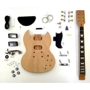 【新春セール!ポイントアップ!】HOSCO ER-KIT-SG (SGタイプ組み立てギターキット)(...