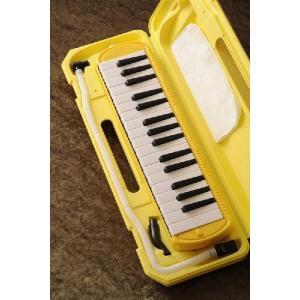 KC/キョーリツコーポレーション  鍵盤ハーモニカ キョーリツ メロディーピアノ(イエロー) (鍵盤ハーモニカ) [P3001-32K](今ならドレミシール付き!)|kurosawa-music