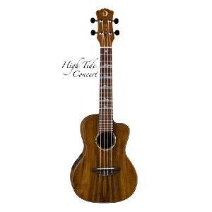 Luna Guitars ルナ ギターズ UKE High Tide Concert KOA コンサート(送料無料)(SAVAREZ Low-G弦 144RL プレゼント)(マンスリープレゼント)(ご予約受付中) kurosawa-music