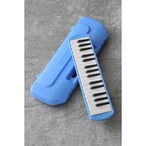 メロディポップ BLUE 豆しぱみゅぱみゅドレミステッカー付き (鍵盤ハーモニカ)【ビッグステッカープレゼント】|kurosawa-music