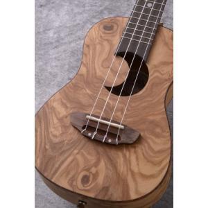 Luna Guitars Uke Exotic Concert olive ash burl crescent [UKE EX OA] (コンサートウクレレ)(送料無料)(SAVAREZ Low-G弦 144RL プレゼント)(ご予約受付中) kurosawa-music