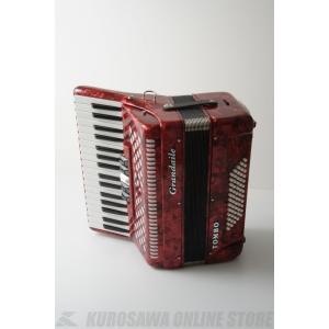 Tombo Grandaile GT-60B (パッションレッドパール)(アコーディオン)(送料無料)|kurosawa-music