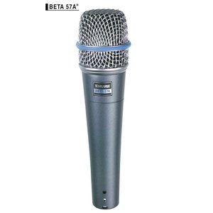 Shure Beta 57Aは、プロ仕様の音空間の創造やスタジオ・レコーディングのために生まれた、ス...