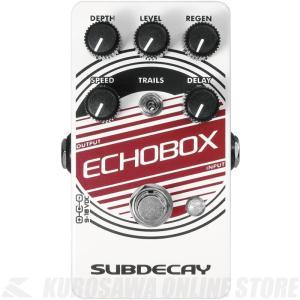 ●Subdecay Echobox v2 Subdecay Echobox v2は、アナログディレイ...