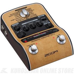 ZOOM AC2 Acoustic Creator (アコースティックギター用DI/プリアンプ)《新...