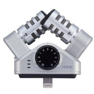 【月末限定タイムセール!ポイントアップ!】ZOOM XY Stereo Microphone iQ6...