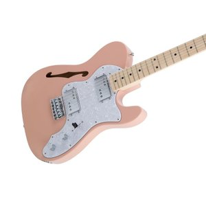 Fender Made in Japan Traditional Traditional 70s Telecaster Thinline (Flamingo Pink)【送料無料】|kurosawa-unplugged|03