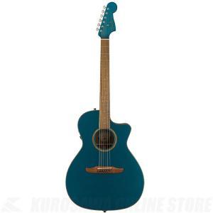 Fender Acoustics Newporter Classic(Cosmic Turquoise)《アコースティックギター》【送料無料】|kurosawa-unplugged