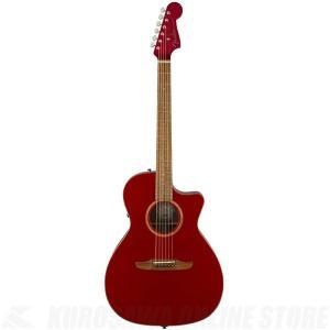 Fender Acoustics Newporter Classic(Hot Rod Red Metallic)《アコースティックギター》【送料無料】|kurosawa-unplugged