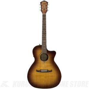 Fender FA-345CE Auditorium 3Tone Tea Burst RW《エレクトリックアコースティックギター》【送料無料】|kurosawa-unplugged